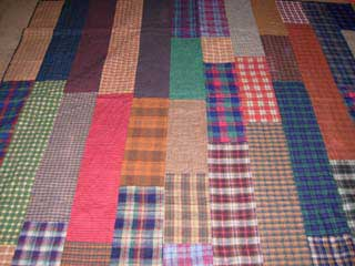 picture of flannel quilt