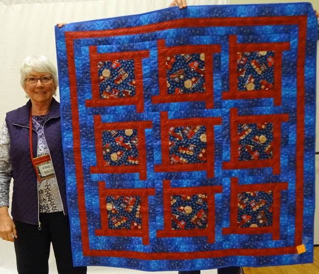 Show And Tell At The Santa Rosa Quilt Guild