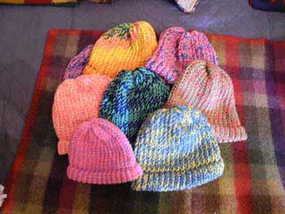 picture of knit hats