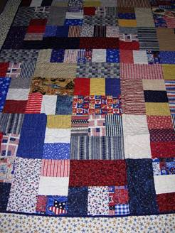 picture of donated quilt