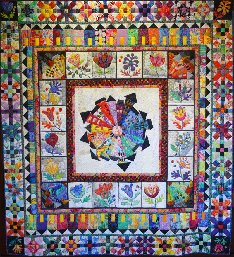 Opportunity Quilt At The Santa Rosa Quilt Guild